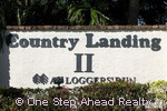 sign for Country Landing II