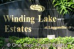 sign for Winding Lake Estates