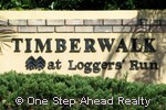 sign for Timberwalk