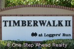 sign for Timberwalk II